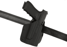 Open-Top-Kydex-Holster-pour-Glock-17-M3-M6-Paddle-Black-Frontline