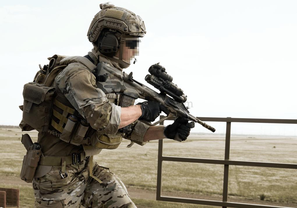 Operator Combat Shirt Black (Clawgear) S