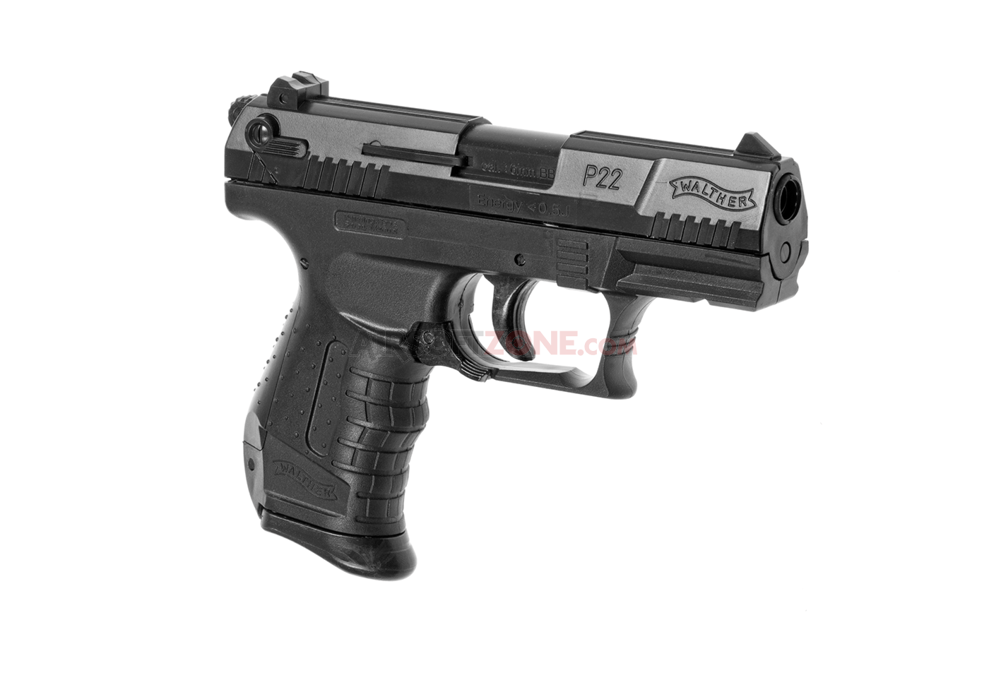 P22 spring gun black walther spring guns airsoftpistolen