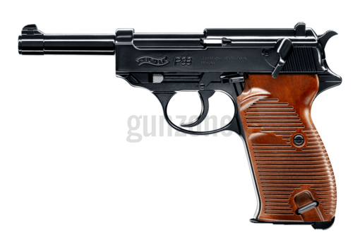 P38 Blowback Full Metal Co2 Black BB (Walther)