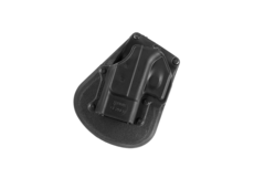 Paddle-Holster-for-Glock-26-Left-Handed-Black-Fobus