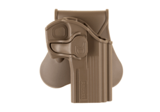 Paddle-Holster-pour-CZ-75D-Compact-Dark-Earth-Amomax