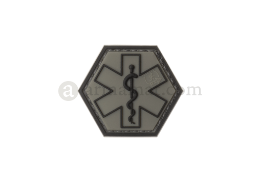 Paramedic Hexagon Rubber Patch Ranger Green (JTG)