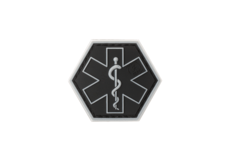 Paramedic-Hexagon-Rubber-Patch-SWAT-JTG