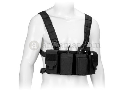 Pathfinder Chest Rig Black (Warrior)