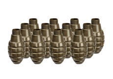 Pineapple-Grenade-Shell-12pcs-Thunder-B