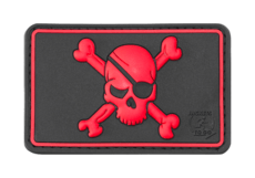 Pirate-Skull-Rubber-Patch-Blackmedic-JTG