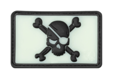 Pirate-Skull-Rubber-Patch-Glow-Back-JTG
