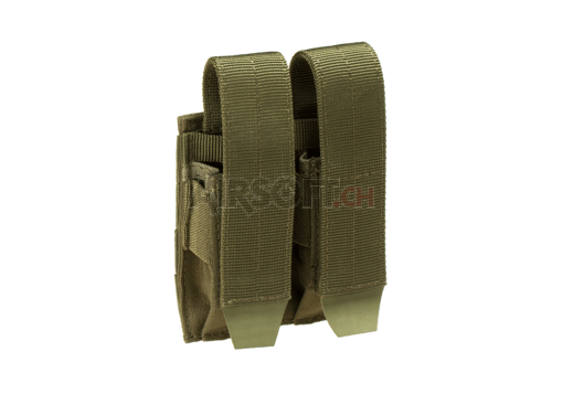 Pistol Double Mag Pouch OD (Condor)
