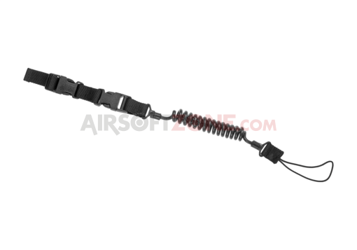 Pistol Lanyard Black (Warrior)