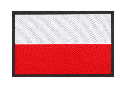 Poland Flag Patch Color