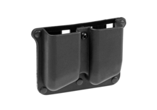 Polymer-Double-Pistol-Mag-Pouch-Black-Frontline