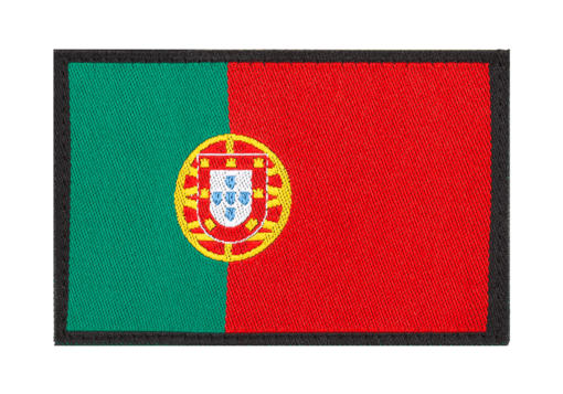 Portugal Flag Patch Color