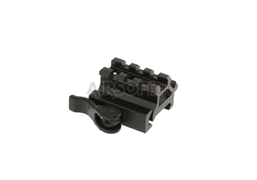 QD Angle Mount Double Rail 3-Slot (Leapers)