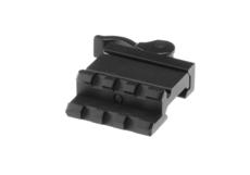 QD-Angle-Mount-Single-Rail-3-Slot-Black-Leapers
