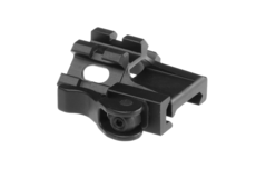 QD-Angle-Mount-Triple-Rail-1-Slot-Black-Leapers