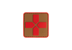 Red-Cross-Rubber-Patch-40mm-Coyote-Red-JTG