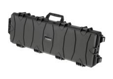 Rifle-Hard-Case-100cm-Wave-Foam-Black-Nimrod