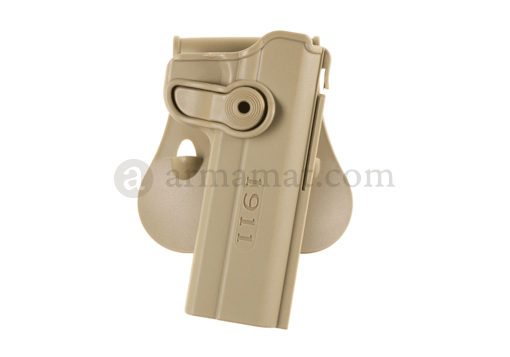 Roto Paddle Holster für M1911 Tan (IMI Defense)