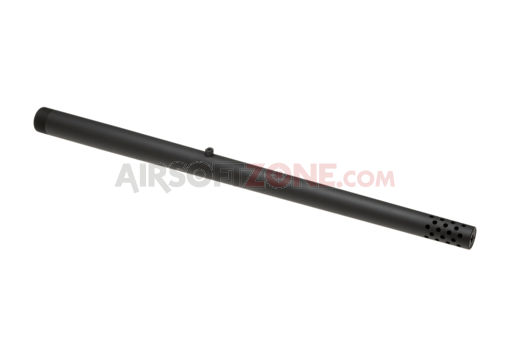 S1 Striker Integrated Muzzle Break Outer Barrel Long Black (Amoeba)
