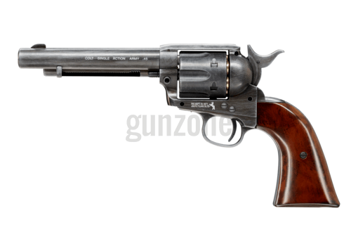 SAA .45 Peacemaker 5.5 Inch Co2 Antique BB (Colt)
