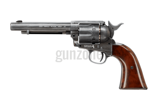 SAA .45 Peacemaker 5.5 Inch Co2 Antique Pellet (Colt)