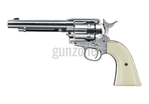 SAA .45 Peacemaker 5.5 Inch Co2 Nickel BB (Colt)