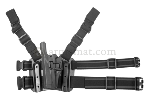 SERPA Holster für Glock 17/19/22/23/31/32 Left Black (Blackhawk)