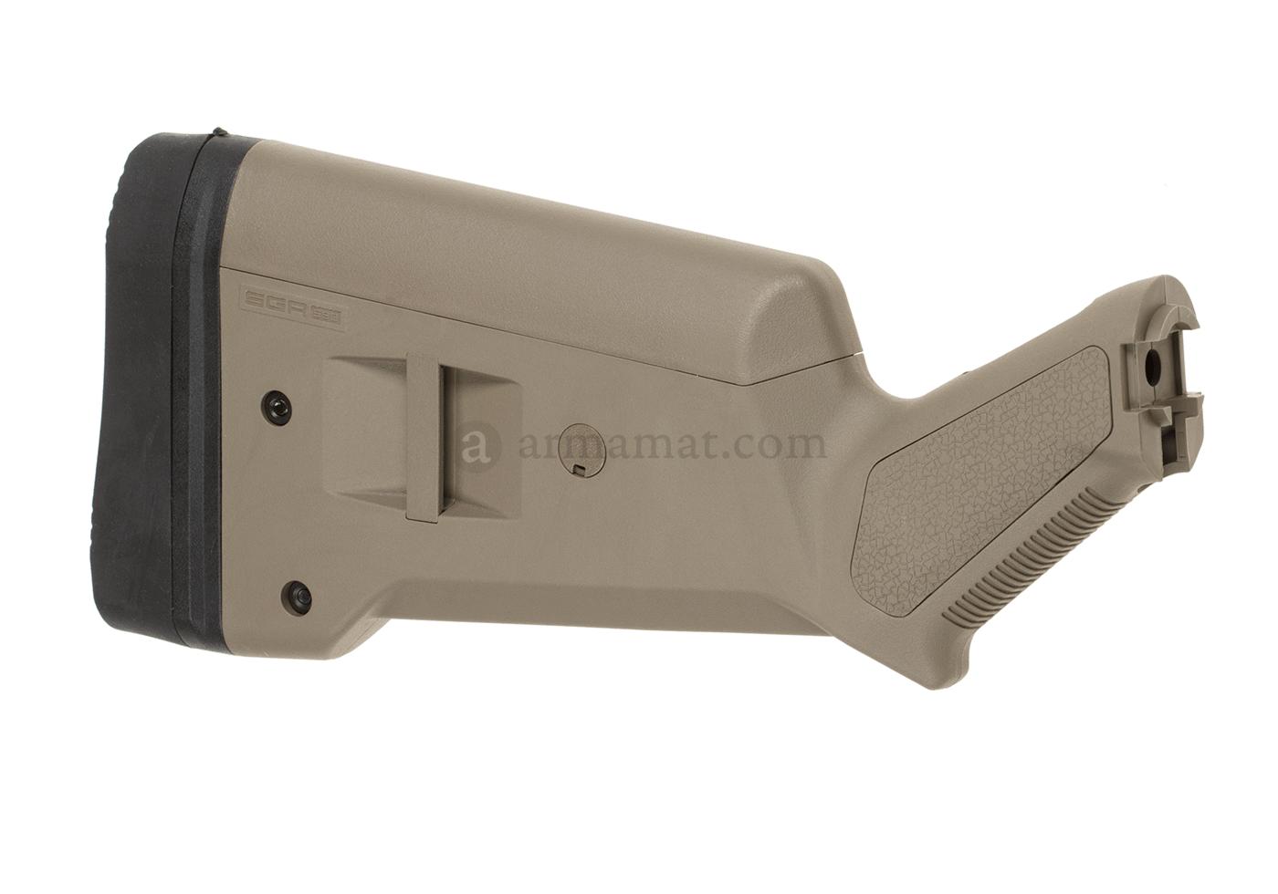 sga500 shotgun stock dark earth magpul 12 gauge
