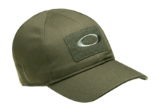 SI-COTTON-CAP-Worn-Olive-Oakley-S-M