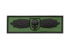 SOF-Skull-Badge-Rubber-Patch-Forest-JTG
