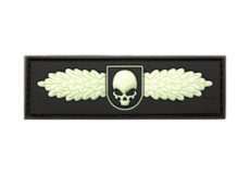 SOF-Skull-Badge-Rubber-Patch-Glow-in-the-Dark-JTG