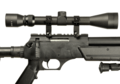SR-2 Sniper Rifle Set Black (Well)