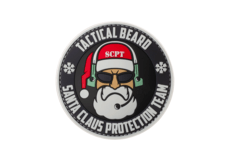 Santa-Claus-Protection-Team-Rubber-Patch-Color-JTG