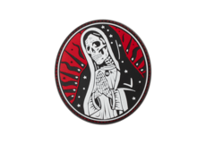 Santa-Muerte-Rubber-Patch-Red-Sky-JTG