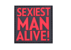 Sexiest-Man-Alive-Rubber-Patch-Blackmedic-JTG