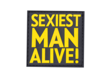 Sexiest-Man-Alive-Rubber-Patch-Color-JTG