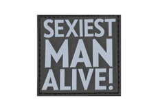 Sexiest-Man-Alive-Rubber-Patch-SWAT-JTG