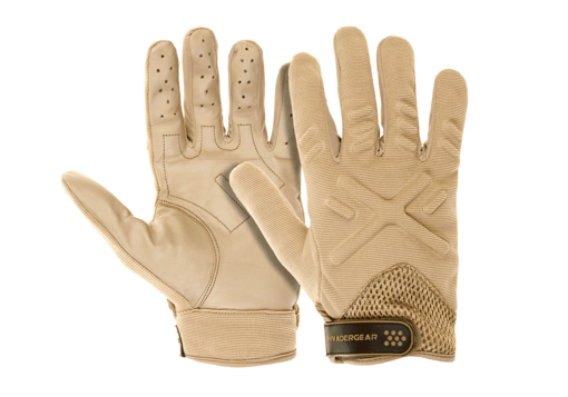 Shooting Gloves Tan L