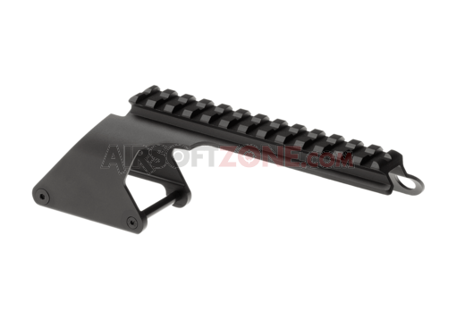 Short Receiver Rail for TM M870 Series Black (G&P)
