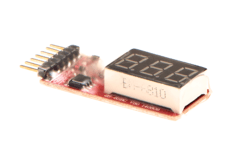 Simple-Voltage-Display-1-6S-Lipo-Voltage-Meter-VB-Power
