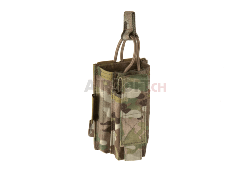 Single Open Mag Pouch 5.56mm with 9mm Multicam (Warrior)