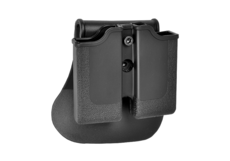 Single-Row-Double-Magazine-Pouch-Black-IMI-Defense