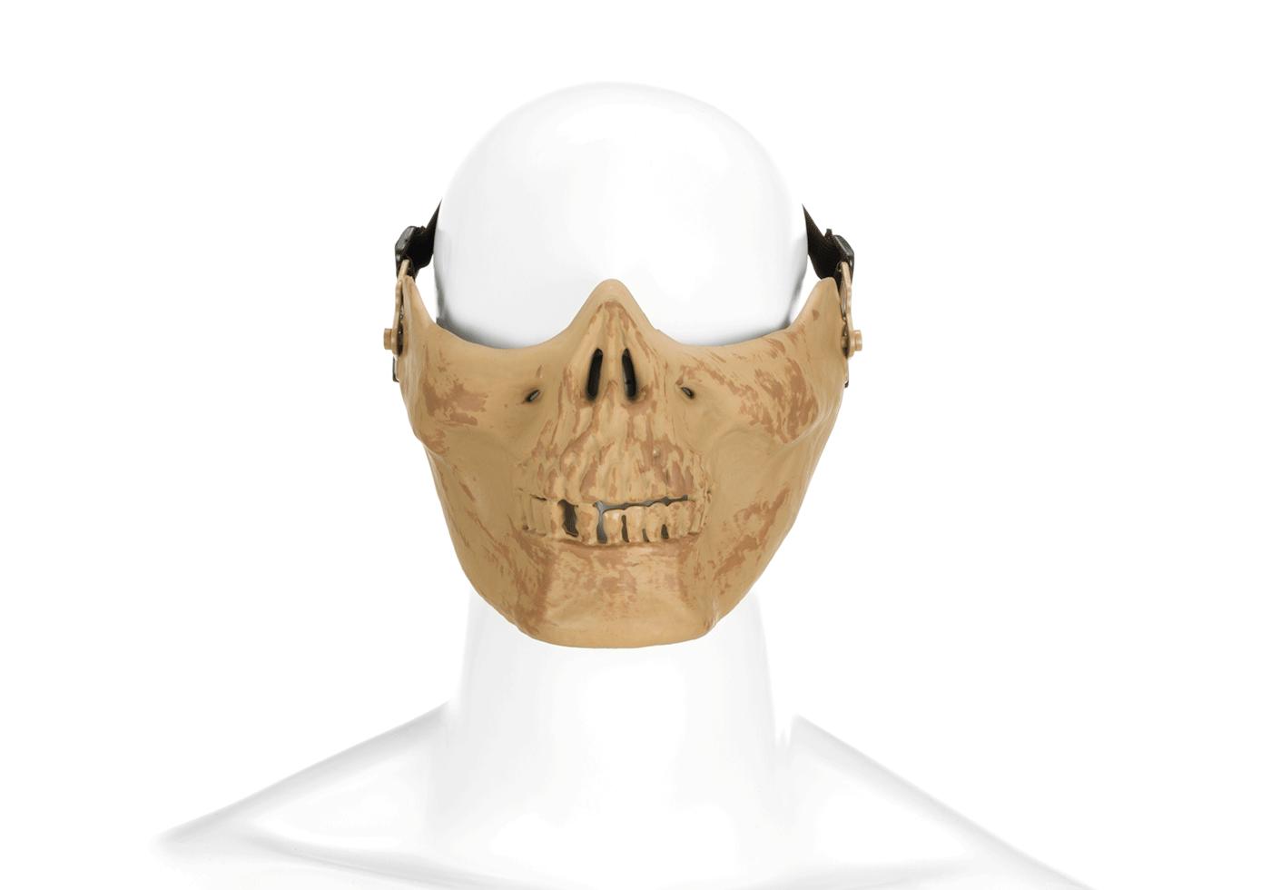 Skull Half Face Mask Bone - Masks - Protective Equipment ...