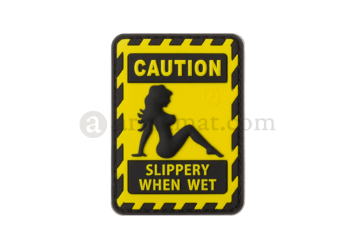 Slippery when Wet Rubber Patch Color (JTG)