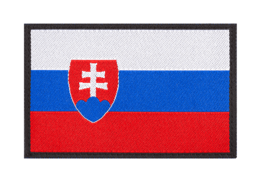 Slovakia Flag Patch Color