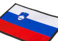 Slovenia Flag Patch Color