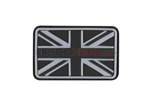 Small Great Britain Flag Rubber Patch SWAT (JTG)