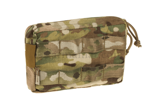Small Horizontal MOLLE Pouch Zipped