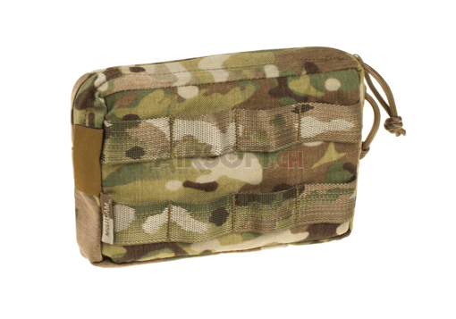 Small Horizontal MOLLE Pouch Zipped Multicam (Warrior)